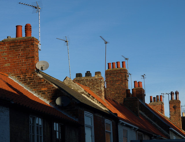 Chimneys and Roofs in Souttergate