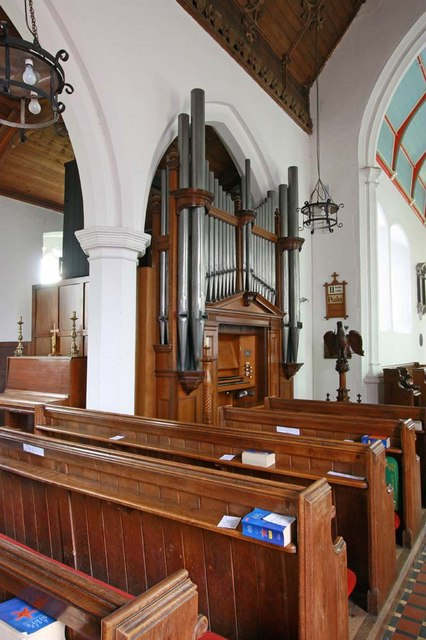 St Mary, Denver, Norfolk - Organ