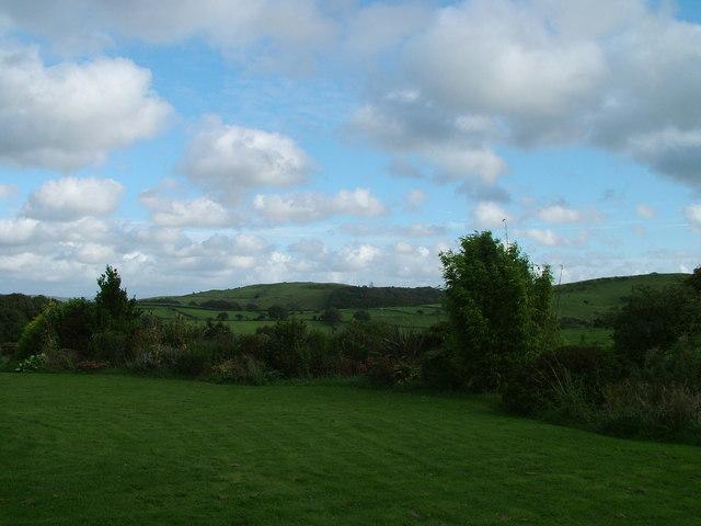 Fields at Newbiggin