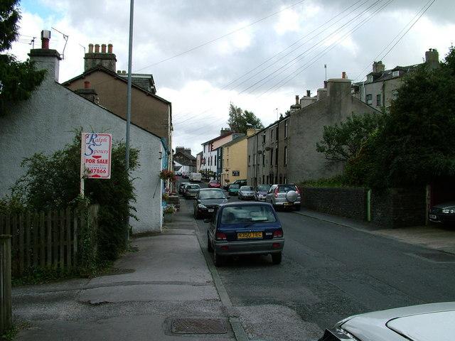 Main street, Greenodd