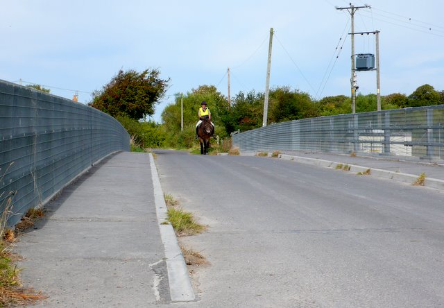Horse Rider on Sloway Bridge