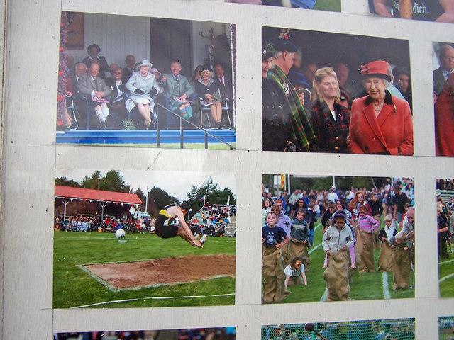 Photo display - Braemar Gathering