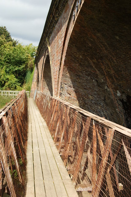 Footbridge Over the River Mole, Westhumble, Surrey