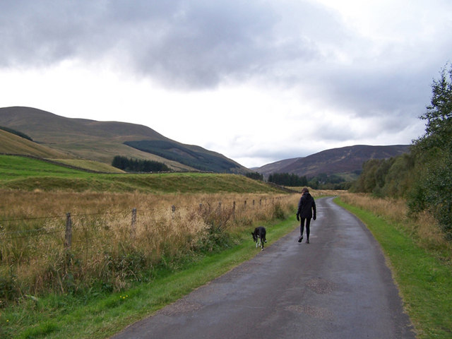 Road to Dalmunzie House Hotel