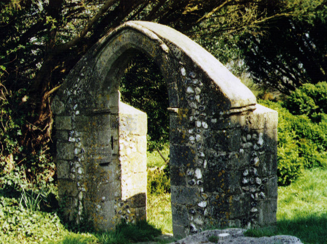 Remains of the Old Church of St Peter