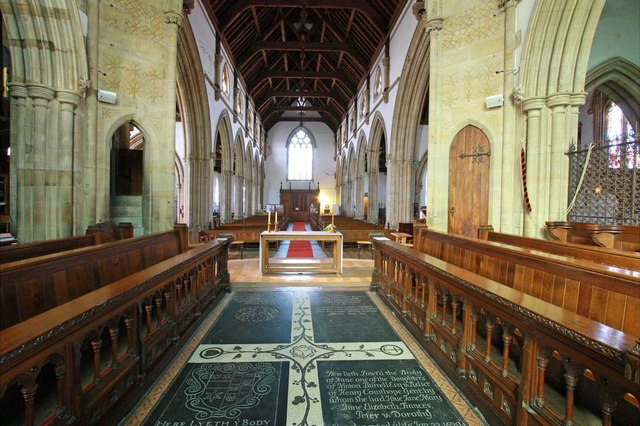 Holy Trinity, Hurstpierpoint, Sussex - West end