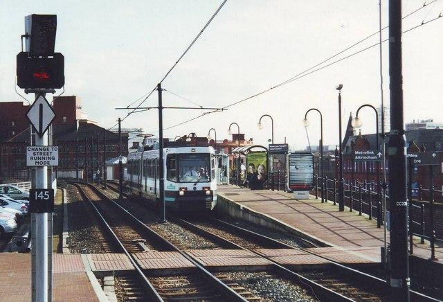 G-MEX  Metrolink Station, Manchester