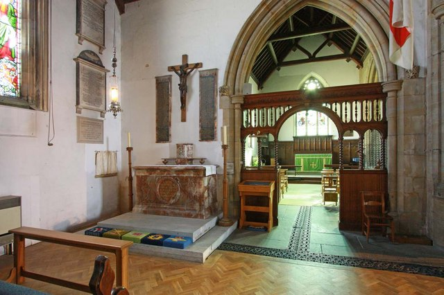 Holy Trinity, Hurstpierpoint, Sussex - North chapel