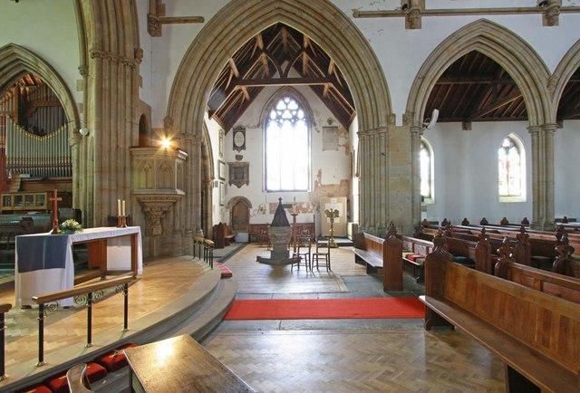 Holy Trinity, Hurstpierpoint, Sussex - Interior