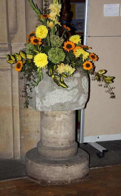 Holy Trinity, Hurstpierpoint, Sussex - Font