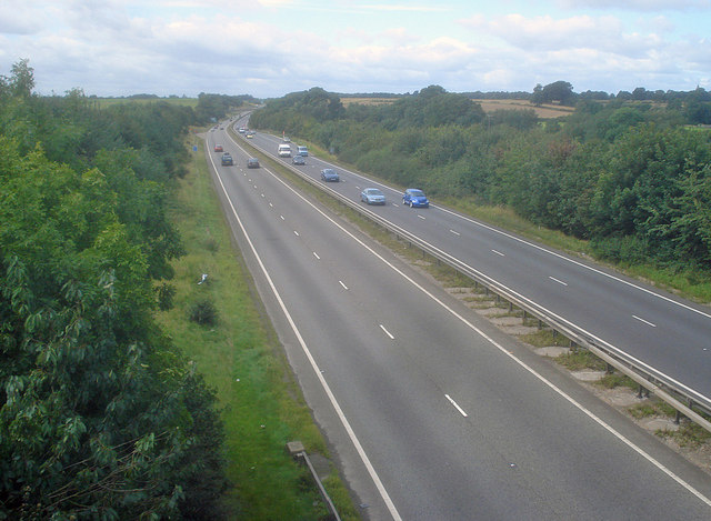 A42 south of Ashby