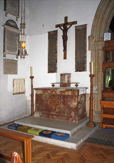 Holy Trinity, Hurstpierpoint, Sussex - Altar
