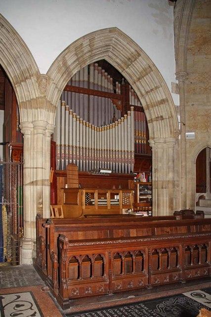 Holy Trinity, Hurstpierpoint, Sussex - Organ