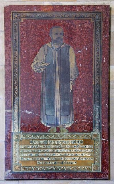 Holy Trinity, Hurstpierpoint, Sussex - Brass