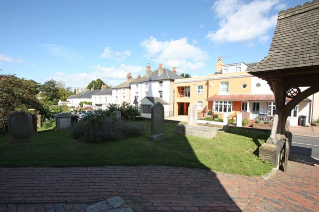 Holy Trinity, Hurstpierpoint, Sussex - Churchyard