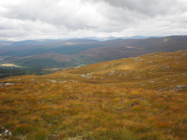 Moorland above Inverwick