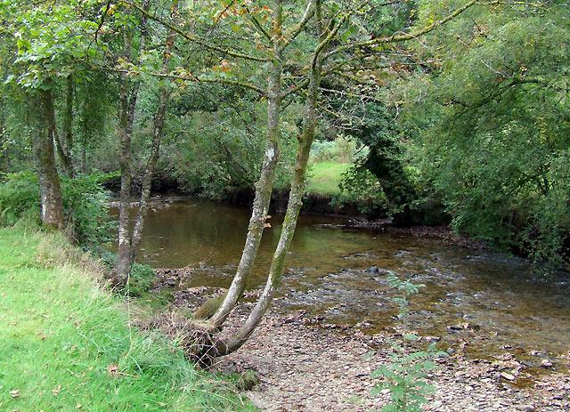 The Afon Irfon south of Abergwesyn, Powys