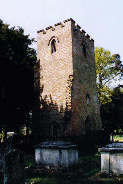 Remains of Old Church of St John, Shedfield