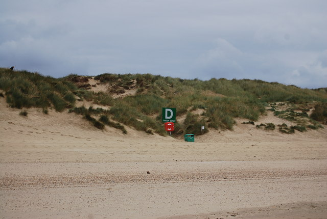 Meeting point D, Camber Sands