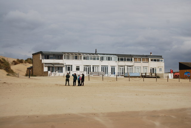 Beach front houses, Camber Sands