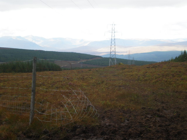 Argo track following Pylons going through broken deer Fence
