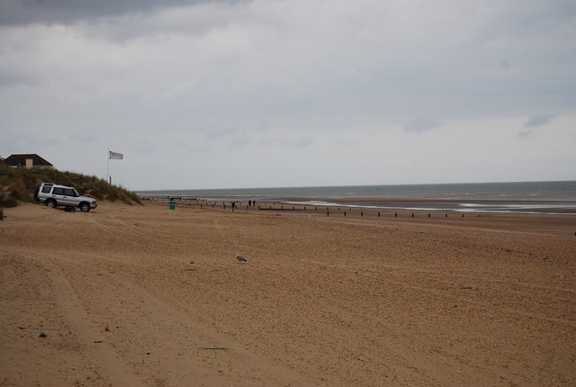 Groynes east of Camber Sands