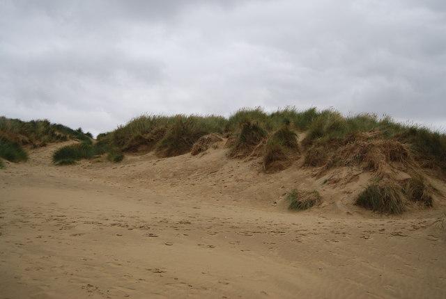 First dune ridge, Camber Sands