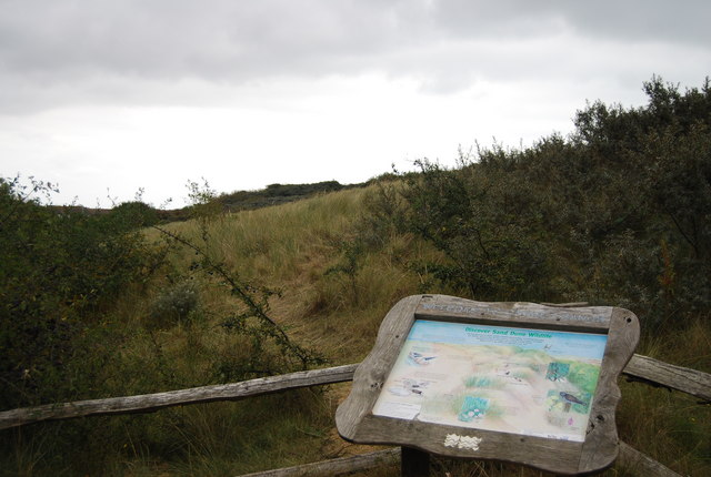 Information Board, Camber Sands