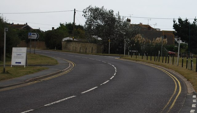 Old Lydd Rd & New Lydd Rd junction