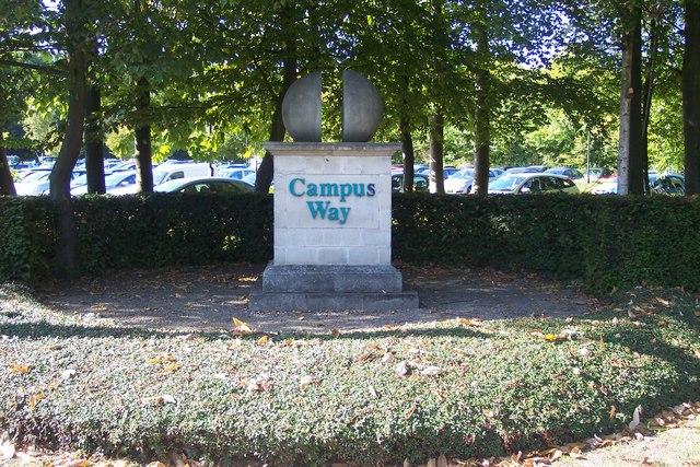 Campus Way Sculpture, Gillingham Business park