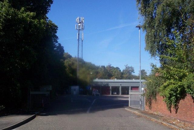 Mobile Mast in VOSA Centre, Gillingham