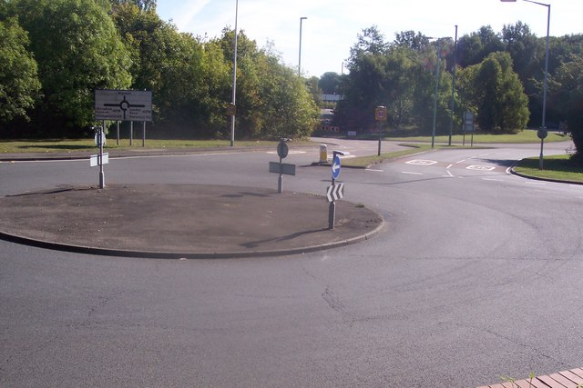 Roundabout near A278 Hoath Way, Gillingham