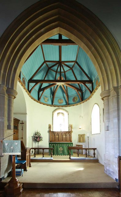 St Cosmas & St Damian, Keymer, Sussex - Chancel