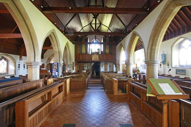 St Cosmas & St Damian, Keymer, Sussex - West end