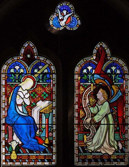St Cosmas & St Damian, Keymer, Sussex - Window