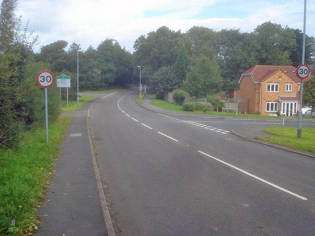 Entering Ashby
