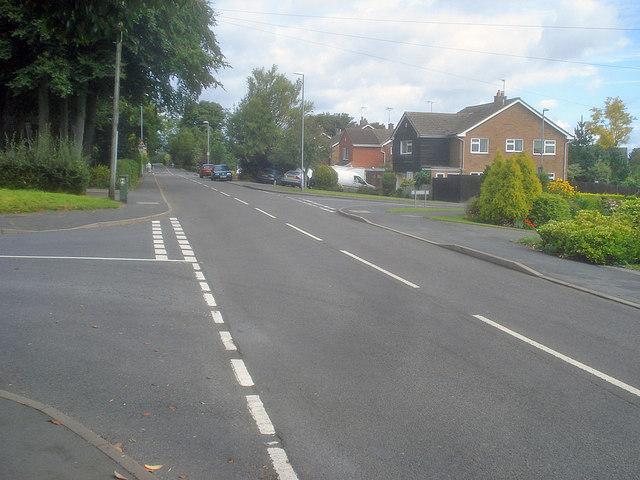 Upper Packington Road