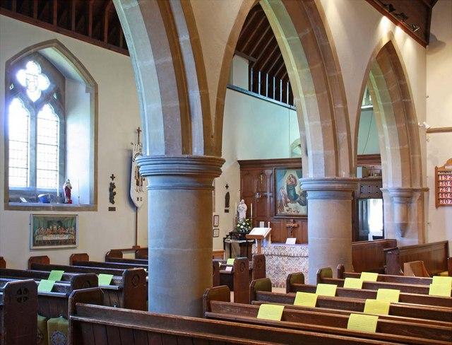 St Cosmas & St Damian, Keymer, Sussex - North aracde