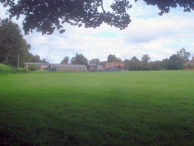 Ashby School buildings and playing field