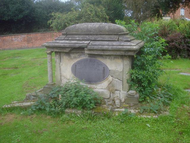 Tomb in St Helen's churchyard