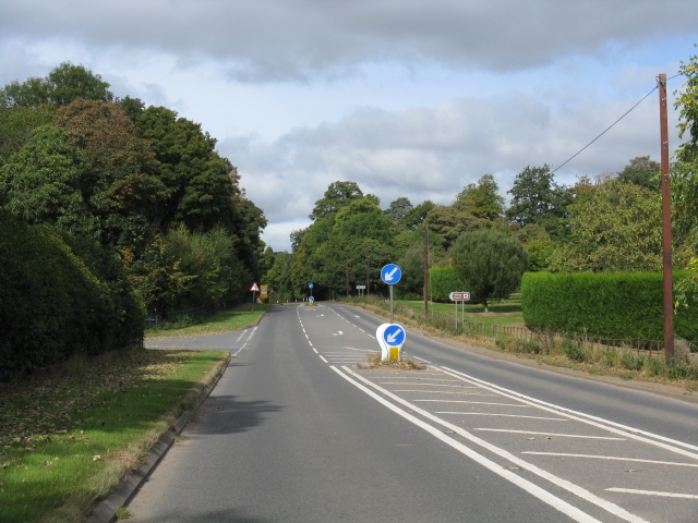 A443 - Junction For Witley Court