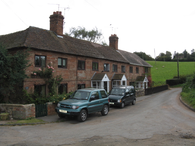 Farmworkers' Cottages Near Hill House Farm