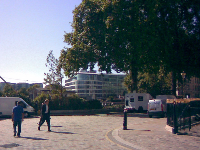The former Port of London Authority building from Trinity Square