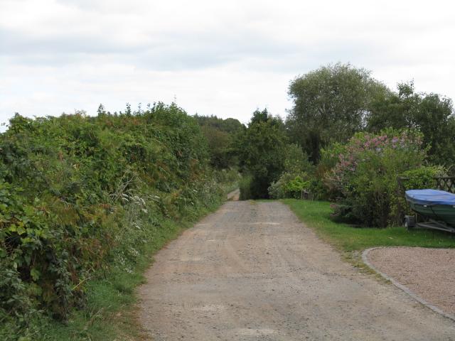Bridleway To Woolstan's Farm
