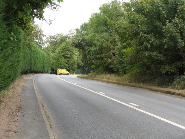 A443 Near Hillhampton House