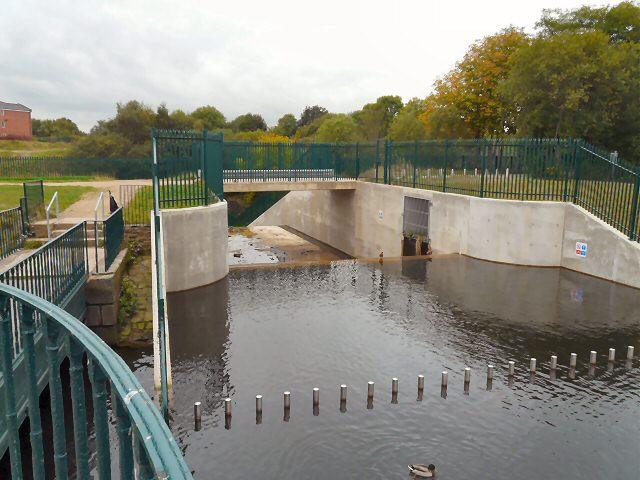 Gorton Lower Reservoir Outfall