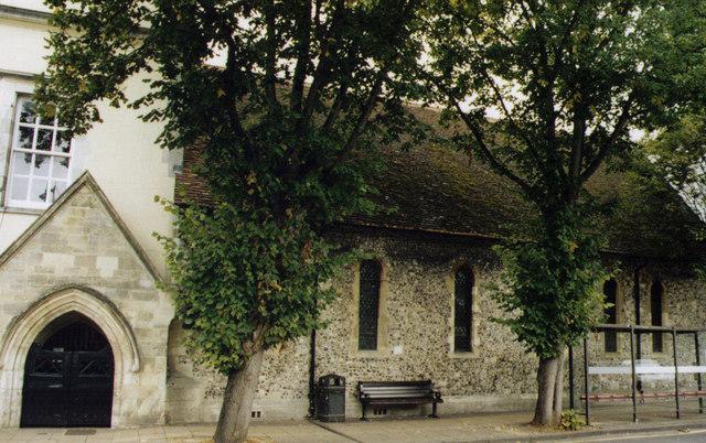 St John's Hospital Chapel, Winchester