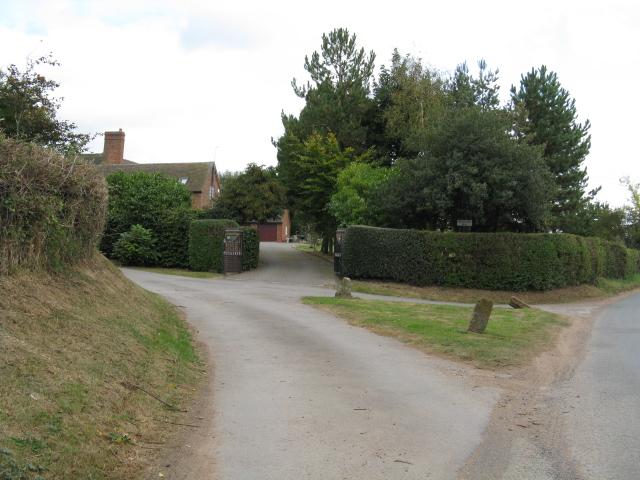 Entrance To Hillhampton Farm