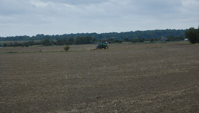 Ploughing near Camber Rd