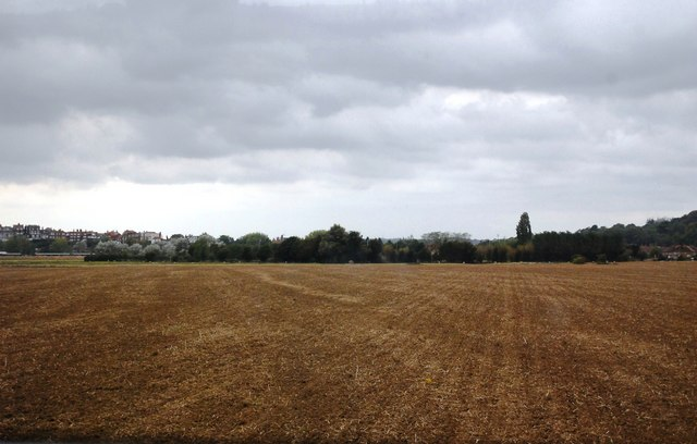 An arable landscape, Camber Rd